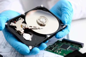 Recovery hard drive lab